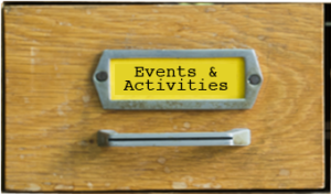Drawer front Events - Ionia County Historical Society - Ionia, MI