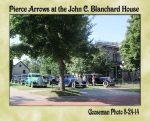 Pierce Arrows - John C. Blanchard house