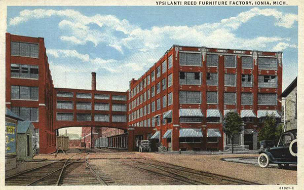 Ypsilanti Reed Furniture Factory - Ionia, MI