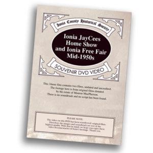 Ionia County Historical Society DVD - John C. Blanchard house - Ionia, MI