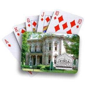 Ionia County Historical Society Poker Deck - John C. Blanchard house - Ionia, MI