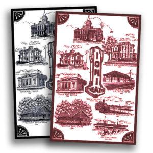 Ionia County Historical Society Throw - John C. Blanchard house - Ionia, MI