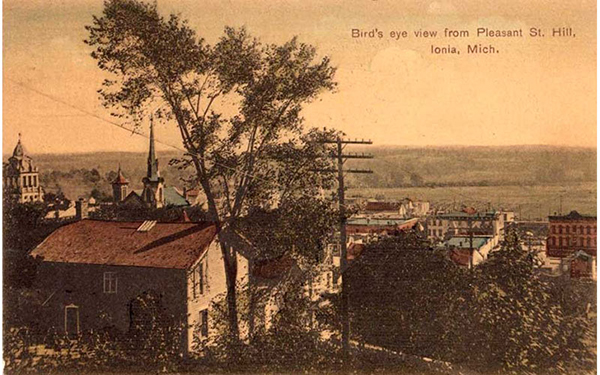 Pleasant St. hill - Ionia, MI